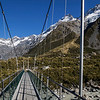 The 3rd Swing bridge on the Hooker Valley track