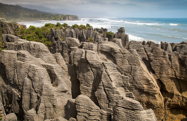 Punakaiki Pancake Rocks, West Coast  - NZ