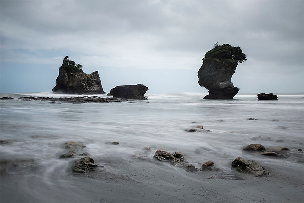 Motukiekie Rocks - West Coast NZ