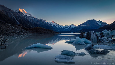 Tasman Glacier, Aoraki - Mount Cook National Park