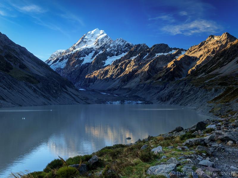 Mount Cook - New Zealand's tallest peak.