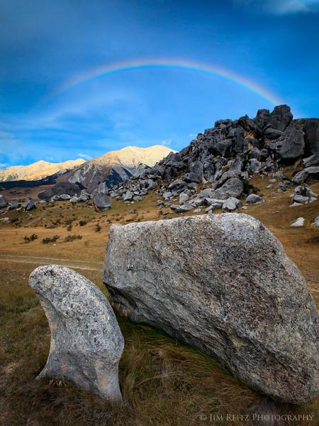 Rainbow - Castle Hill, New Zealand