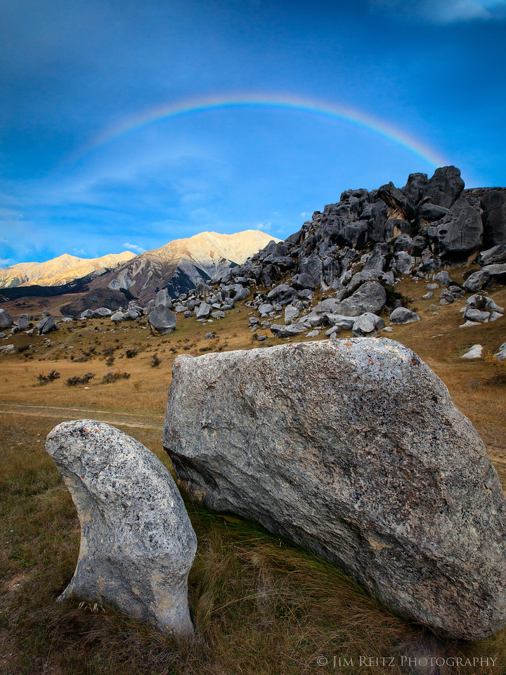 Rainbow - Castle Hill, New Zealand