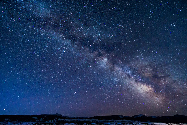 Milky Way Over Antelope Flats