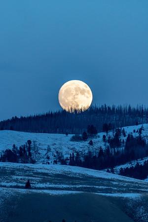 Gros Ventre Moonrise