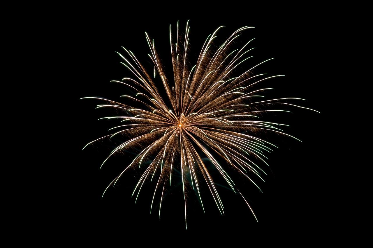 Fireworks - Comins, MI 2012