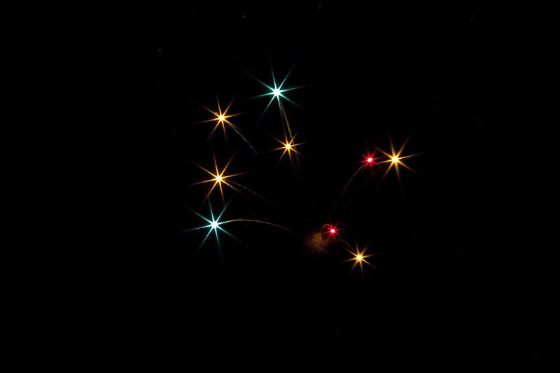 Local Fireworks - Comins, MI 2012
