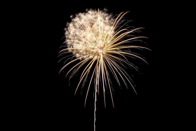 Fireworks -Comins, MI 2012