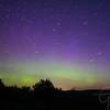 Northern Lights Aurora Borealis in Lewiston Michigan