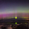 Ice & Northern Lights in Michigan's north country!