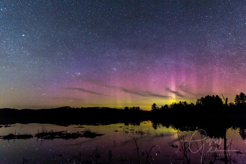 Northern Lights - Lewiston, Mi 4-22-17