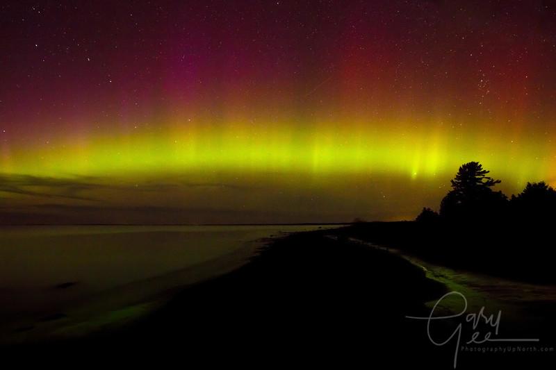 Northern Lights Wilderness State Park Michigan - Sturgeon Bay