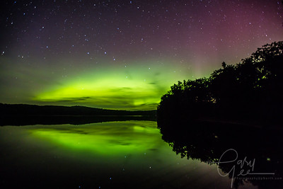 Aurora - Northern Lights - September 7th 2015 - Avery Lake Michigan