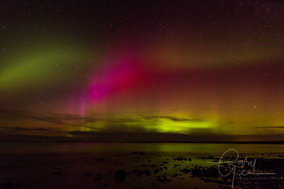 Northern Lights Sturgeon Bay Michigan October 2013