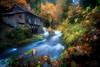 Grist Mill, near Woodland, Washington