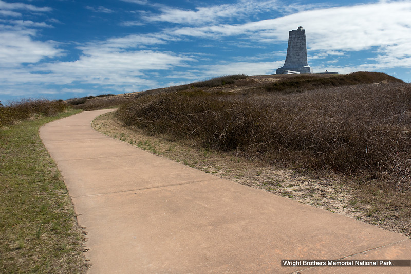 Wright Brothers Memorial National Park.