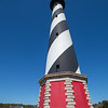 Cape Hatteras Light Station 16mm (in 35mm film)  Shows effect of wide angle lens.  Less than 27mm is considered wide angle.