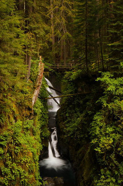 Sol Duc Falls<br /> Olympic National Park