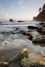 Gentle Ocean Tide<br /> Second Beach<br /> Olympic National Park