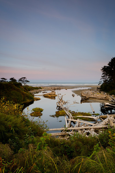 Sunrise at Kalaloch<br /> Olympic National Park