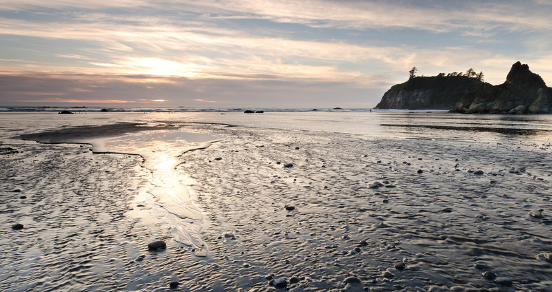 Ruby Beach Sand Patterns<br /> Olympic National Park