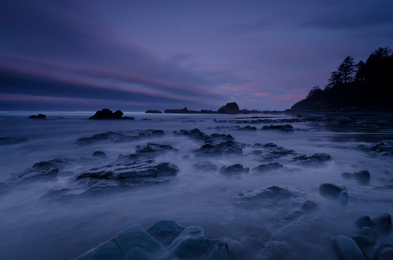 Early Morning at Fourth Beach<br /> Olympic National Park
