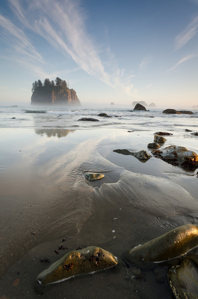 Second Beach Afternoon Sky<br /> Olympic National Park