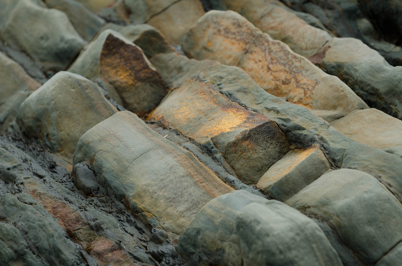 Rock Layers<br /> Fourth Beach<br /> Olympic National Park
