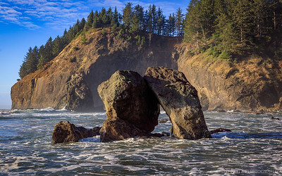 China Beach near Brookings, Oregon