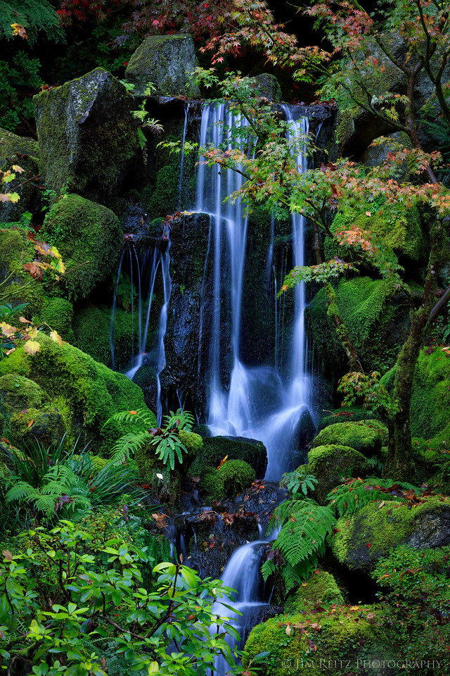 Waterfall, Portland Japanese Garden
