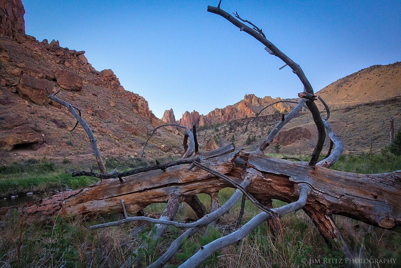 """Broken"" - Smith Rock state park in central Oregon"