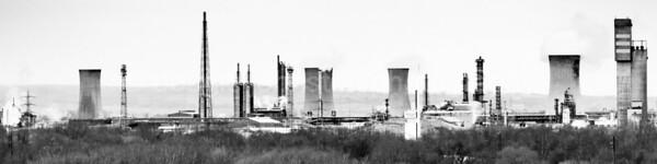 Industry. Teesside, N.E.England