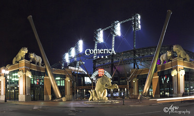 World Series Comerica Park