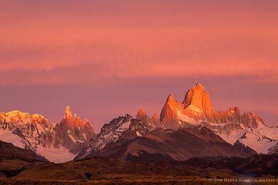 Mount Fitz Roy - sunrise.