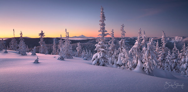 Winter Tranquility Mt. Hood, Oregon
