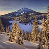 Mount Bachelor Golden Sunrise