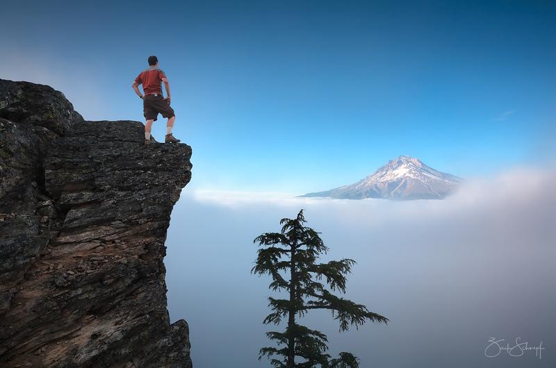 Edge of the Earth Mt. Hood, Oregon