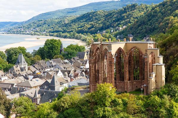 Rhein, Bacharach, Reben, Stadt, Wein,