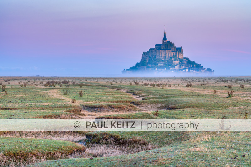 Dawn, Mont Saint Michel, Normandy France 9/2019