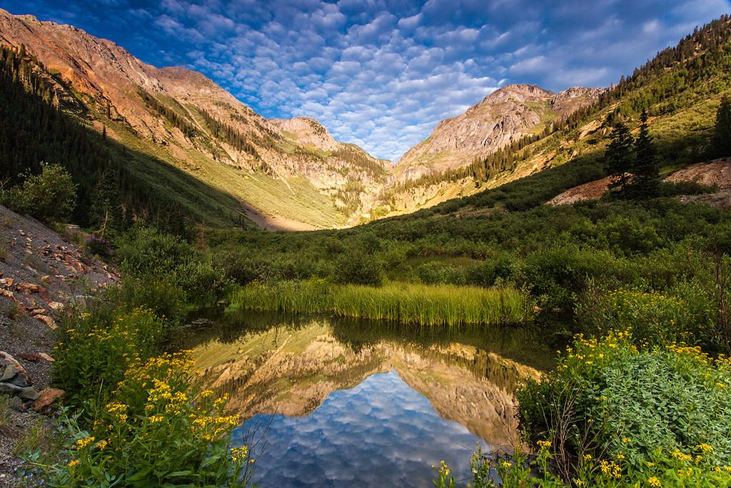 San Juan Mountains, near Silverton, Colorado