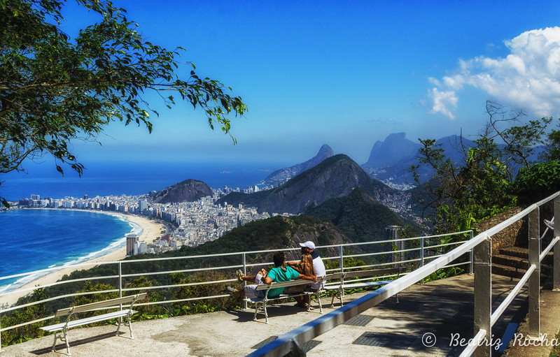 Copacabana view from the Sugar Loaf