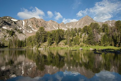 Lee Metcalf Wilderness Lake and Mtn
