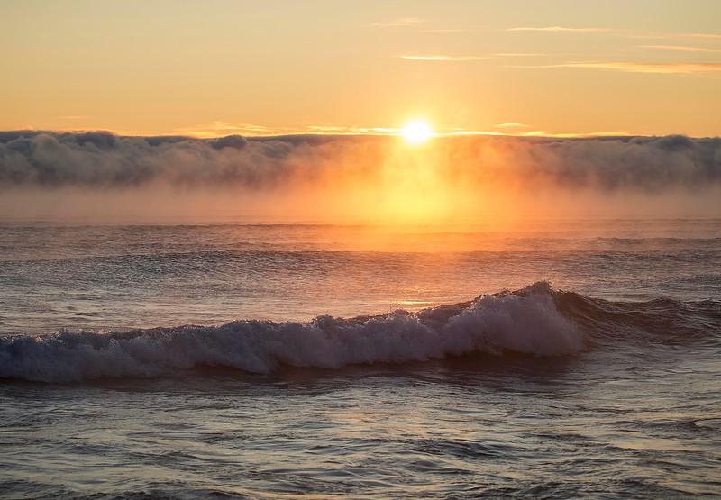 Sunrise on Lake Superior, Mn