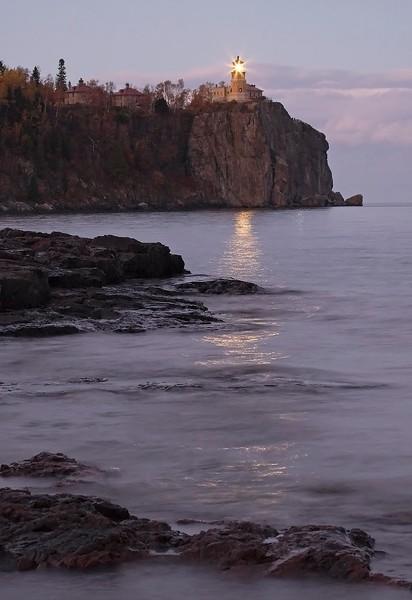 Split Rock Lighthouse-Lighted