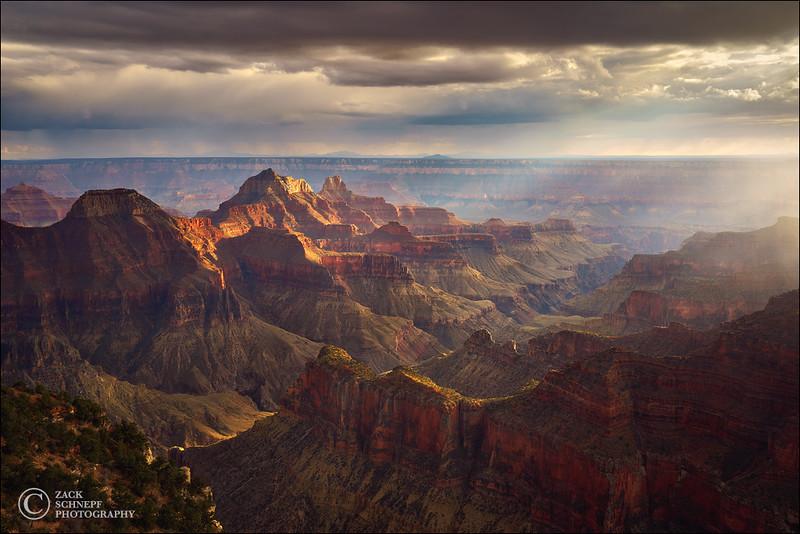 Storm Light Grand Canyon