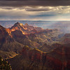 Storm Light Grand Canyon