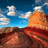 "<font color=""#FFFFFF"" size=""4"" face=""Verdana, Arial, Helvetica, sans-serif"">Dali Rock</font><br> Vermillion Cliffs, Arizona"
