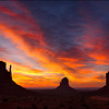 "<font color=""#FFFFFF"" size=""4"" face=""Verdana, Arial, Helvetica, sans-serif"">Monument Valley Sunrise</font><br> Monument Valley, Utah"