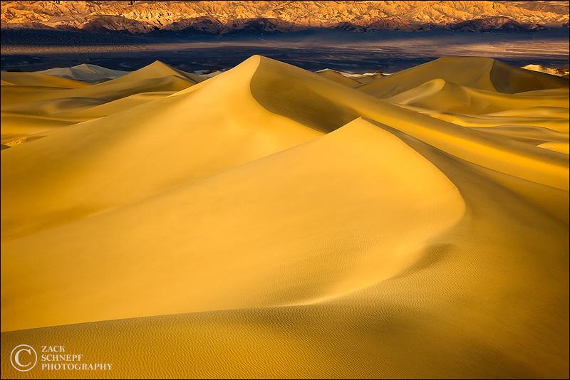 "<font color=""#FFFFFF"" size=""4"" face=""Verdana, Arial, Helvetica, sans-serif"">Golden Pyramid Dunes</font><br> Death Valley, CA"