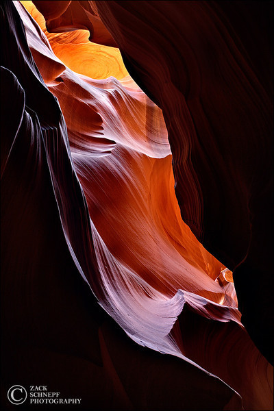 "<font color=""#FFFFFF"" size=""4"" face=""Verdana, Arial, Helvetica, sans-serif"">Upper Antelope Canyon</font><br> Antelope Canyon, Arizona"